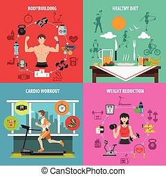 Gym Flat Set