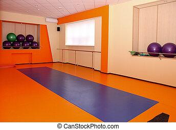 Gym interior