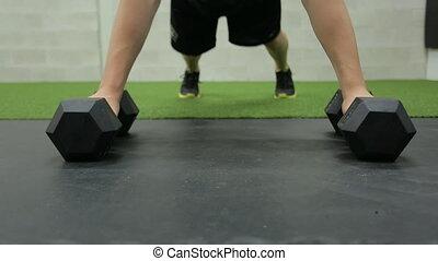 Gym man activity