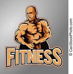 Gym mascot