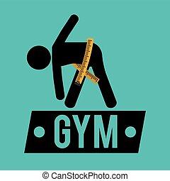 gym measuring tape lose weight