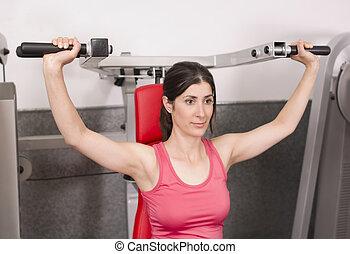 gym, mensen
