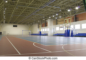 gym for soccer, volleyball, basketball