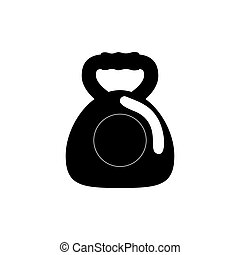 Gym weight isolated icon vector illustration graphic design