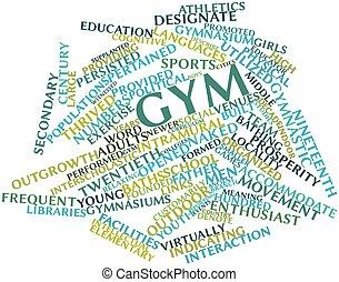 Gym, Woord, wolk