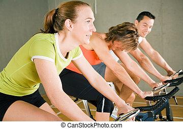 gymnase, cyclisme