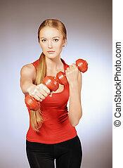 gymnase, fitness