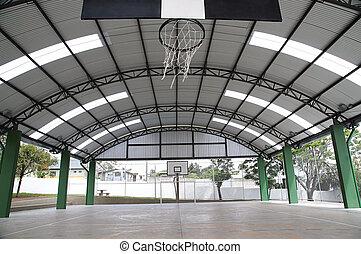 gymnase, sports intérieur