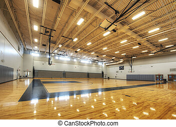 Gymnasium at Middle School