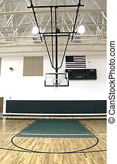 Gymnasium at School