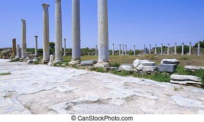 Gymnasium in Salamis, Famagusta - The gymnasium in Salamis,...