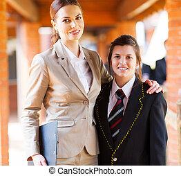 gymnasium onderwijzeres, student