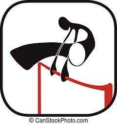 Gymnastic sport game