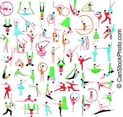Gymnastics And Ballet Big Set