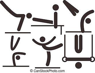 Gymnastics Artistic icon