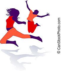 gymnastics, dance