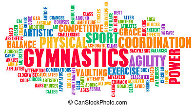 Gymnastics as an Athletic Competitive Sport Art
