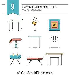 Gymnastics Icons
