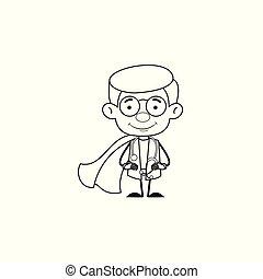 Gynecologist Doctor - In Super Hero Costume