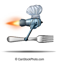 gyorsan elkészíthető étel, felszabadítás
