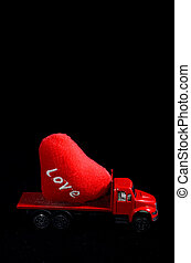 gyorsulás, fogalom, szeret, truck...