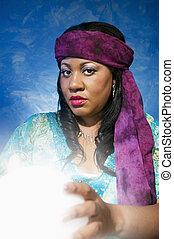 Gypsy Fortune Teller - Gypsy fortune teller.