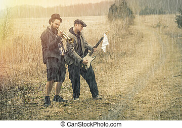 Gypsy Trumpet and Guitar