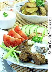 Gyros Greek specialty