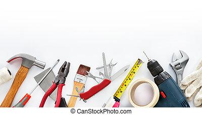 hágalo mismo, herramientas