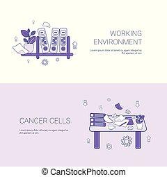 háló, fogalom, dolgozó, hely, környezet, workplace, sablon, másol, transzparens