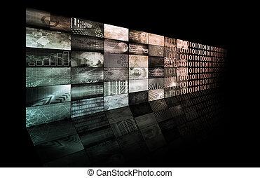 háló, technologies