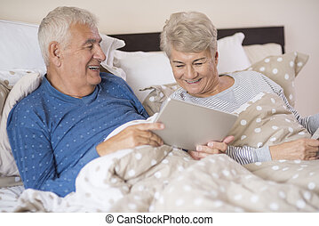 hálószoba, maradék, modern, nagyszülők