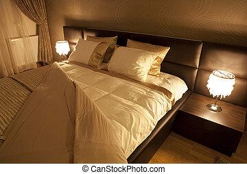 hálószoba, modern