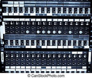 hálózat, servers