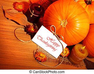 hálaadás, holiday dekoráció, határ