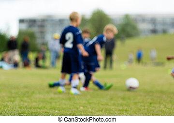 három, életlen, futball, gyerekek