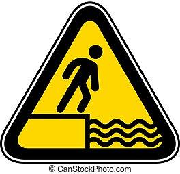 háromszögű, figyelmeztetés, kockázat, jelkép