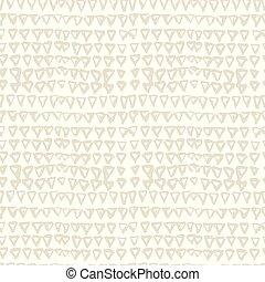 háromszög, csomó, pattern., festeni