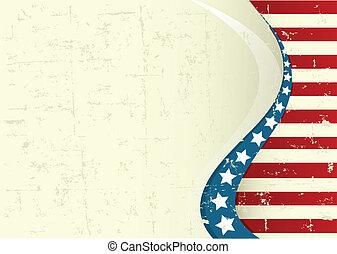 háttér, amerikai