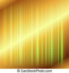 háttér, arany-, fény