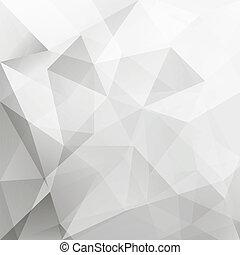 háttér, elvont, vektor, háromszög