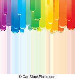 háttér., elvont, vektor, színkép, kép