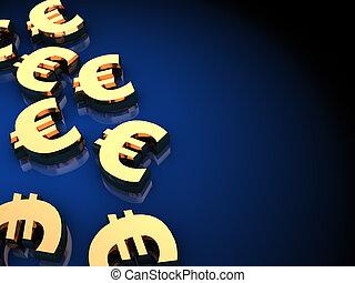 háttér,  Euro