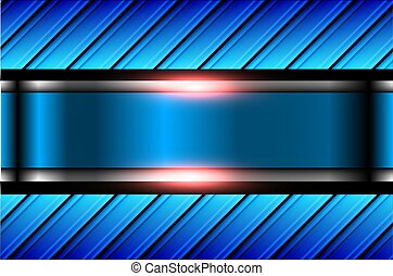 háttér, kék, elvont