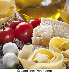háttér, táplálék italian