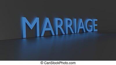 házasság, szó