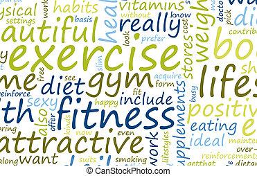 hälsa, fitness