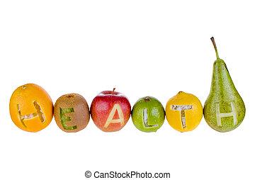 hälsa, och, näring