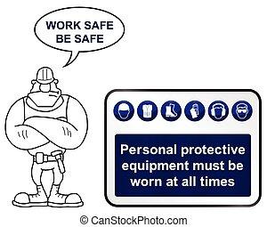 hälsa och säkerhet, underteckna