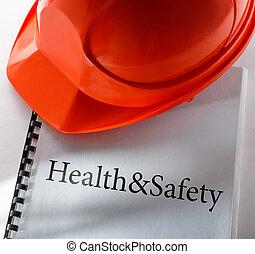 hälsa, säkerhet hjälm